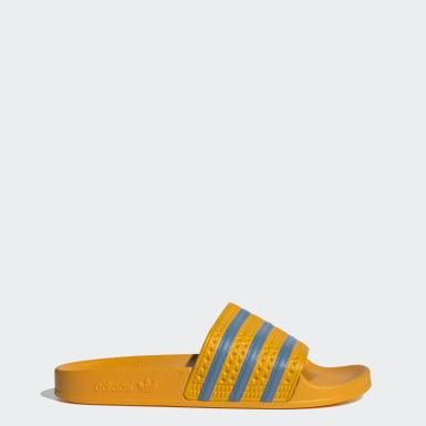 adilette Slides Żółty