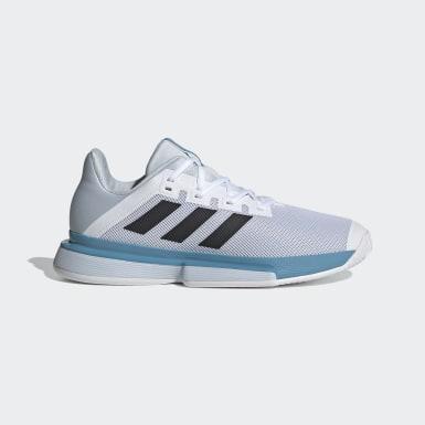 Men Tennis White SoleMatch Bounce Tennis Shoes