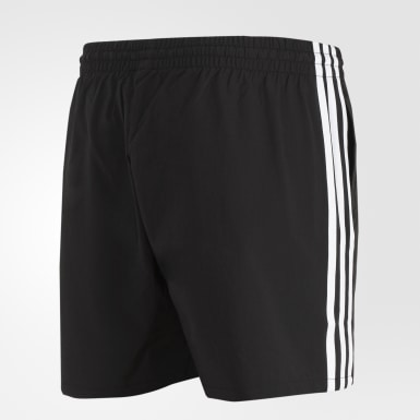 Men Athletics Black ID Cargo Shorts