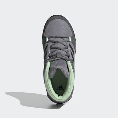 Çocuklar TERREX Gri Terrex Hyperhiker Yürüyüş Ayakkabısı