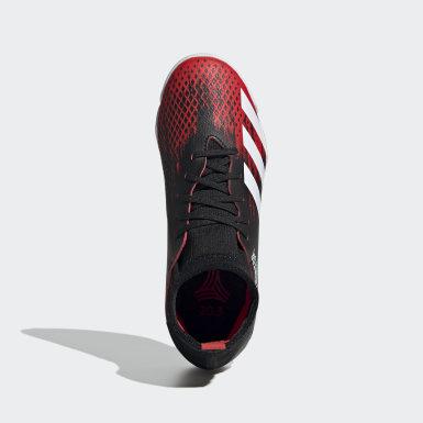 Boys Football Black Predator 20.3 Indoor Boots