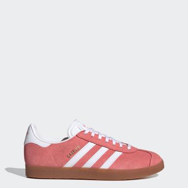 Dames Originals Rood Gazelle Schoenen