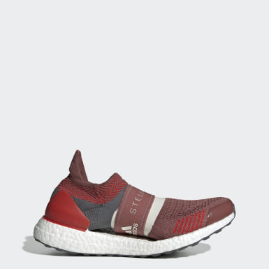 Chaussure Ultraboost X 3D rouge Femmes adidas by Stella McCartney