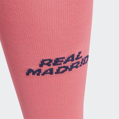 розовый Гостевые игровые гетры Реал Мадрид 20/21