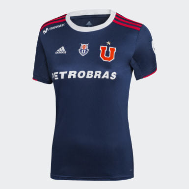 CAMISETA DE LOCAL UNIVERSIDAD DE CHILE MUJER