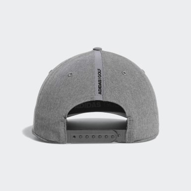 Men Golf Grey A-Stretch adidas Badge of Sport Tour Hat