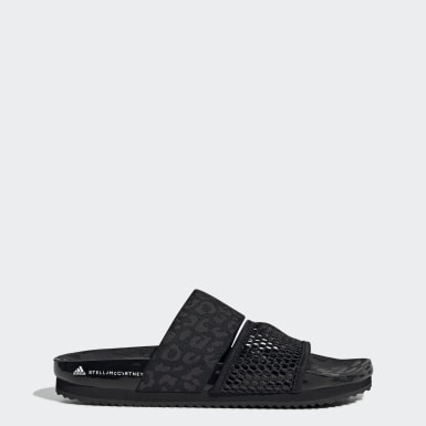 Women's adidas by Stella McCartney Black Stella-Lette Slides