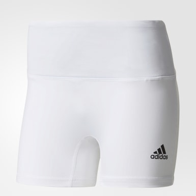 4in Short Tight Blanco Mujer Volleyball
