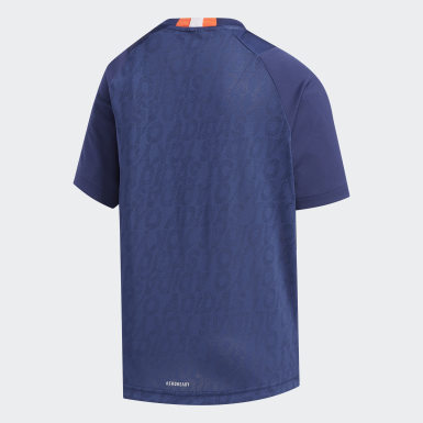 Boys Training Blue TR Game Tee