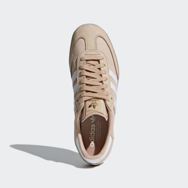 Women Originals Beige Samba Shoes