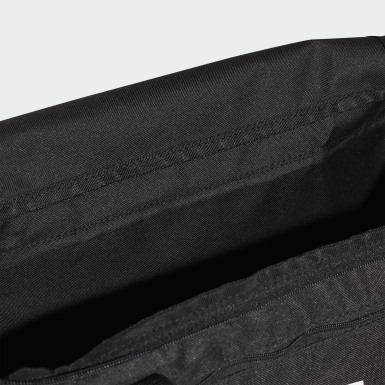 Athletics Black Linear Core Duffel Bag Small
