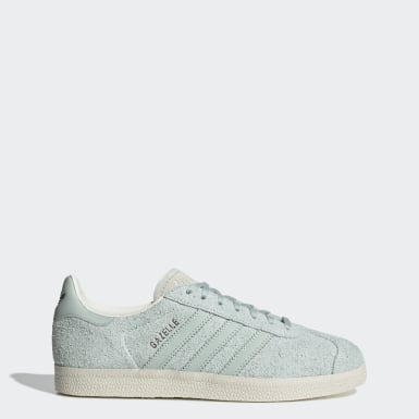 Women Originals Green Gazelle Shoes