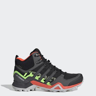 Men TERREX Black Terrex Swift R2 Mid GORE-TEX Hiking Shoes