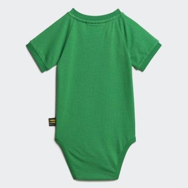 Kids Originals Green Pharrell Williams Babygrow Suit