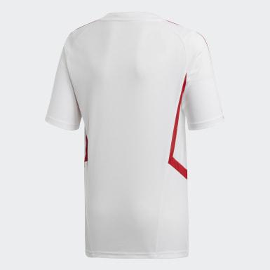 Arsenal Training Jersey Bialy