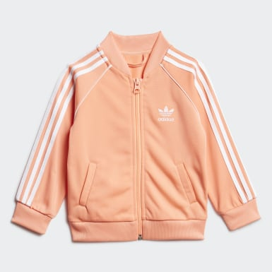 Kids Originals Orange SST Track Suit