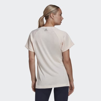 T-shirt Glam On AEROREADY rose Femmes Athletics