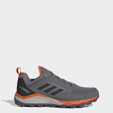 ผู้ชาย TERREX สีเทา รองเท้าวิ่งเทรล Terrex Agravic TR