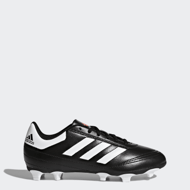Children Soccer Black Goletto 6 Firm Ground Cleats