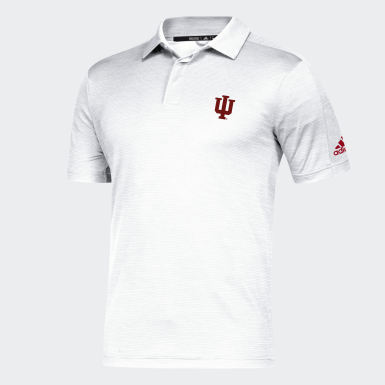 Men's Athletics Multicolor Hoosiers Game Mode Coach Polo Shirt