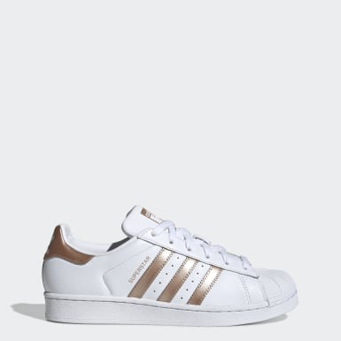 adidas superstar w chaussures rose blanc