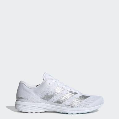 Tenis para correr Adizero RC 2.0 Blanco Mujer Running
