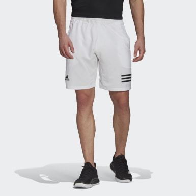 Short Club Tennis 3-Stripes Bianco Uomo Tennis