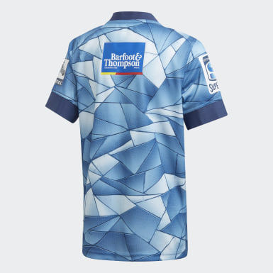 Boys Rugby Blue Blues Home Jersey