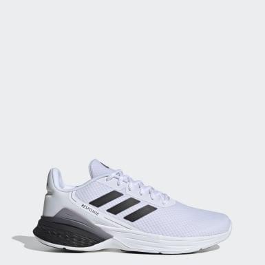 ผู้ชาย วิ่ง สีขาว รองเท้า Response SR