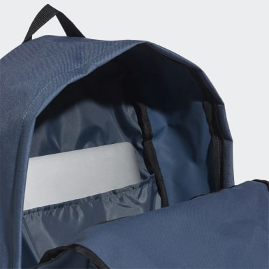 Morral Classic 3 Rayas Azul Training
