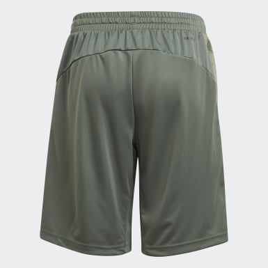 Short adidas Designed To Move Camouflage Verde Ragazzo Training