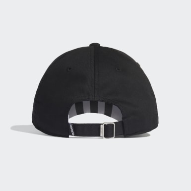 ไลฟ์สไตล์ สีดำ หมวกเบสบอล 3-Stripes