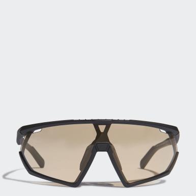 Padel Tenis černá Sluneční brýle SP0001 Matt Black Injected Sport