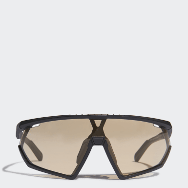 Padel Tennis Sort SP0001 Matte Black Injected Sport solbriller