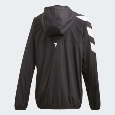 Casaca Corta Viento XFG Must Haves Negro Niño Training