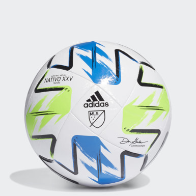 Men's Soccer White MLS Nativo XXV Training Ball