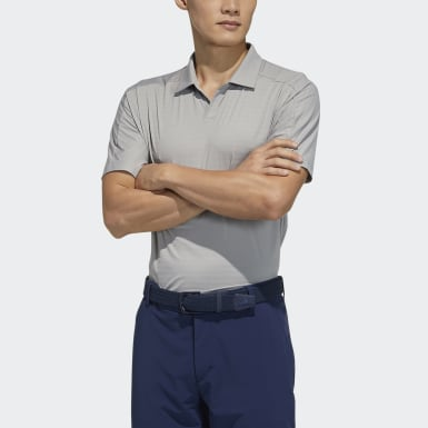Men Golf Grey Polo Shirt