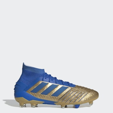 Men Football Gold Predator 19.1 Firm Ground Boots