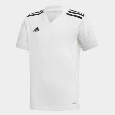 Playera Regista 20 Blanco Niño Fútbol