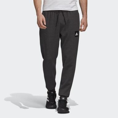 ผู้ชาย Athletics สีดำ กางเกงขายาว Must Haves Stadium