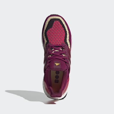 Zapatilla Ultraboost DNA Burgundy Mujer Running