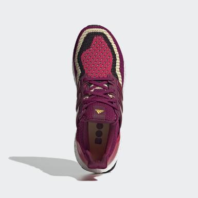 Zapatillas Ultraboost DNA Burgundy Mujer Running