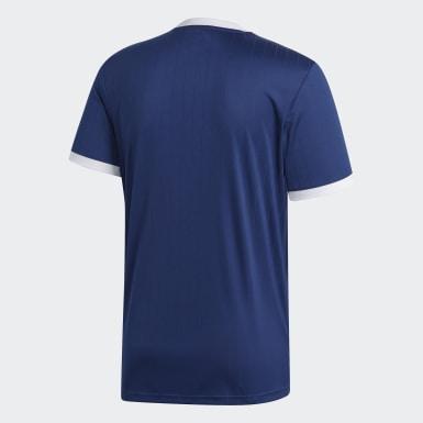 ผู้ชาย ฟุตบอล สีน้ำเงิน เสื้อฟุตบอล Tabela 18