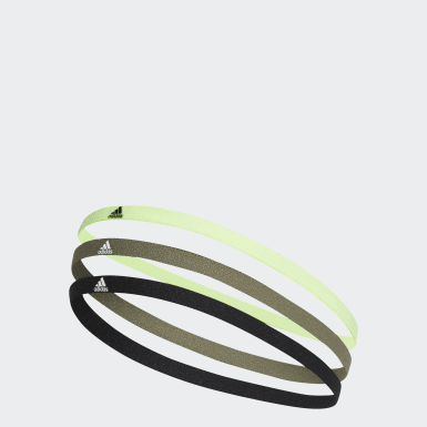 Yoga Haarband 3er-Pack Schwarz