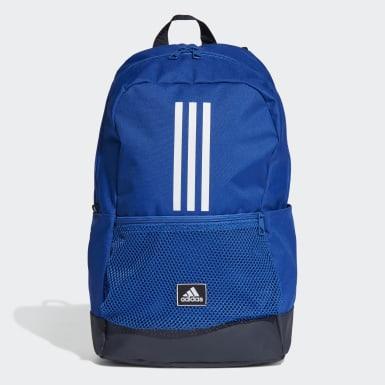 Hádzaná modrá Ruksak Classic 3-Stripes