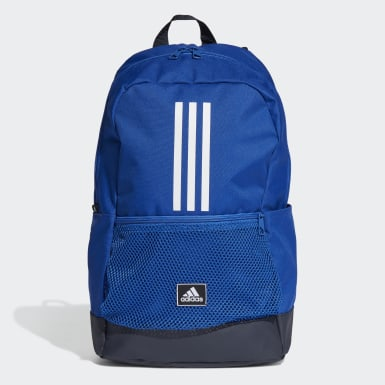 Zaino Classic 3-Stripes Blu Tennis