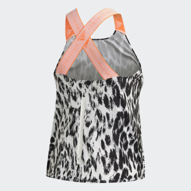 TRUEPURPOSE Loose Tank Top Bialy