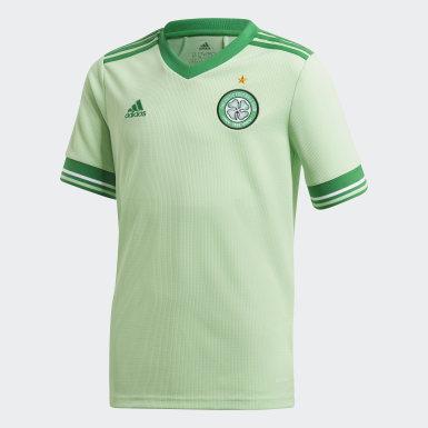 Kinderen Voetbal Groen Celtic FC 20/21 Uitshirt