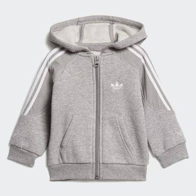 серый Комплект: толстовка и брюки Outline