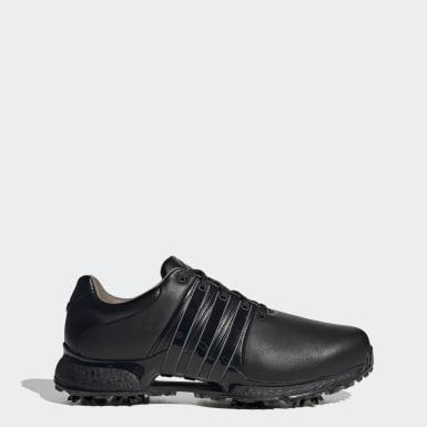 Men Golf Black Tour360 XT Wide Shoes